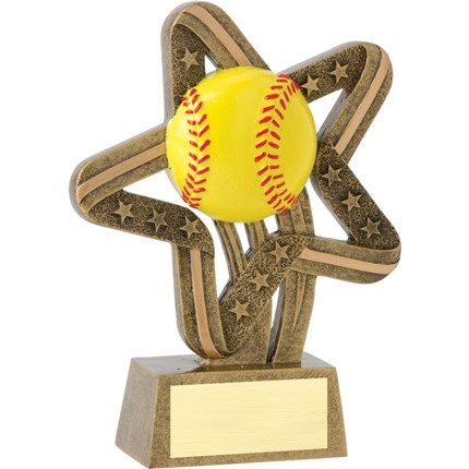 STARS AND STRIPES RESIN SERIES - SOFTBALL