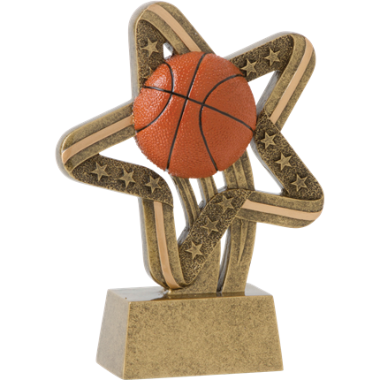 STARS AND STRIPES RESIN SERIES - BASKETBALL