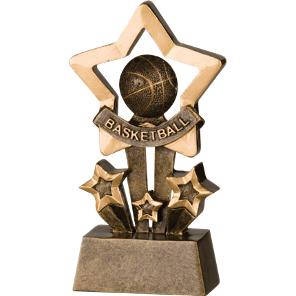 Shadow Star Resin Series - Basketball