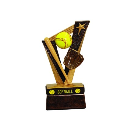 TROPHY BANDS RESIN SERIES -SOFTBALL