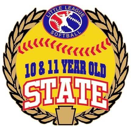 10 & 11 Year Old Softball Pin Series - State
