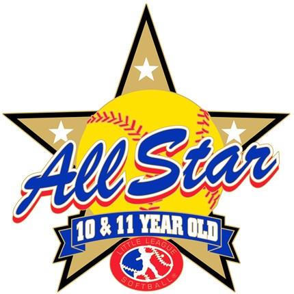10 & 11 Year Old Softball Pin Series - All Star