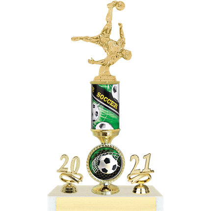 Wilson Series - Soccer Trophy with Full Year and Insert