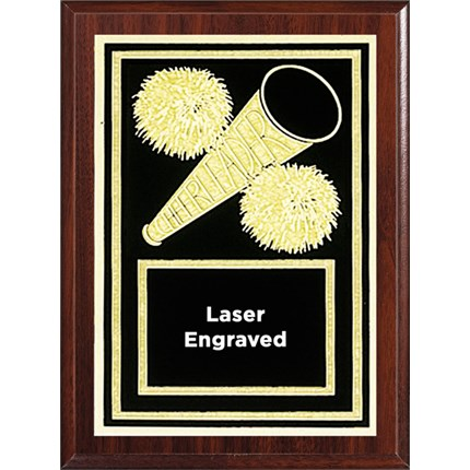 Laser Plaque Series - Cheer