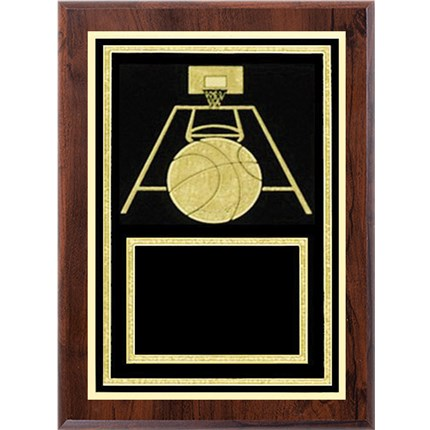 Laser Plaque Series - Basketball