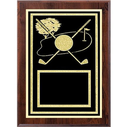 Laser Plaque Series - Golf