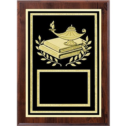 Laser Plaque Series - Lamp of Knowledge