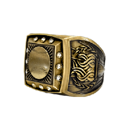 Bling Gold championship ring baseball