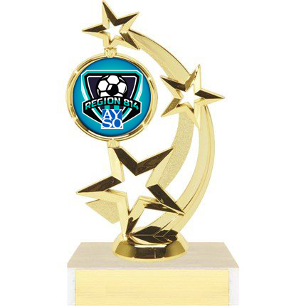 Astro Star Figure Trophy Series - AYSO