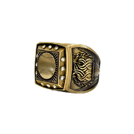 Championship Ring - Bling - Gold