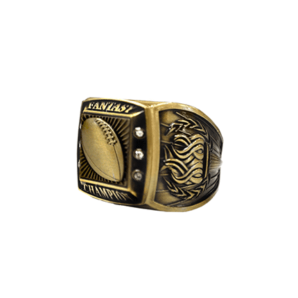 Championship Ring - Fantasy Champion - Gold