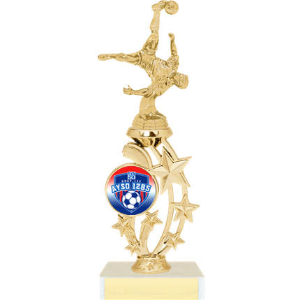 Soccer Trophy - Bicycle Kick - AYSO