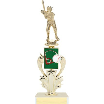 Star Sweep Riser Trophy Series - Baseball