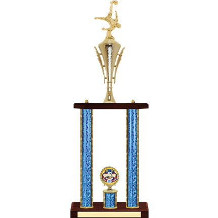 Two Post Soccer Trophy - 25